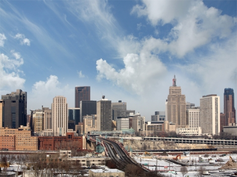 St. Paul Minnesota Skyline