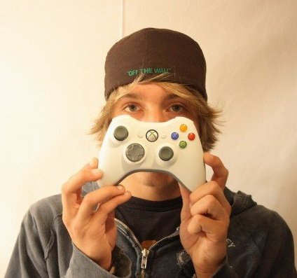 Me with Xbox 360 Controller
